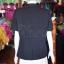 เสื้อสูทผ้าฝ้ายผสม สีดำ ไซส์ S thumbnail 4