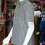 เสื้อสูทผ้าฝ้ายทอลายสก็อต ไซส์ S thumbnail 3