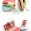 กระเป๋าสตางค์ BE SWEET WALLET [แบบพับปิดกระดุม+มีซิปแยก] thumbnail 13