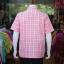 เสื้อเชิ้ตผ้าทอลายสก็อต ไม่อัดผ้ากาว สีชมพู ไซส์ M thumbnail 3