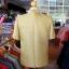 เสื้อสูทไหมผสมฝ้าย สีเขียวทอง ไซส์ XL thumbnail 3