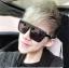 แว่นตากันแดดแฟชั่นเกาหลี กรอบดำด้าน สี่เหลี่ยมคางหมู thumbnail 1