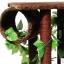 MU0116 คอนโดแมวสี่ชั้น ต้นไม้แมว กระบะนอน ท่อนไม้อุโมงค์ ของเล่นแขวน มีเถาวัลย์ใบไม้พันรอบต้นไม้ เหมือนปีนบนต้นไม้ในป่า สูง 126 cm thumbnail 7