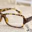 แว่นตาแฟชั่นเกาหลี สีน้ำตาลเสือดาว (ไม่มีเลนส์) thumbnail 2