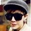 แว่นตากันแดดแฟชั่นเกาหลี กรอบดำด้าน thumbnail 1