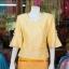 เสื้อผ้าฝ้ายสุโขทัย ปักมุก ไซส์ L thumbnail 1