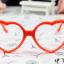 แว่นตาแฟชั่นเกาหลี กรอบหัวใจสีส้ม (ไม่มีเลนส์) (ของจริงส้มสว่างกว่าในภาพคะ) thumbnail 1