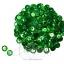 เลื่อมจานดิสโก้ 8มิล สีเขียว (120 กรัม) thumbnail 1