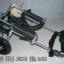 รถเข็นสำหรับสัตว์พิการ วีลแชร์หมา วีลแชร์แมว วีลแชร์สำหรับสัตว์เลี้ยงอายุมาก ขนาดเล็ก สำหรับขาหลัง รุ่น CF-01 thumbnail 2