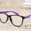 แว่นตาแฟชั่นเกาหลี สีดำม่วง (ไม่มีเลนส์) thumbnail 1