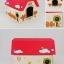 MU0001 CAT HOUSE บ้านกระดาษแมวน้อย แข็งแรงทนทาน หลังคารับน้ำหนักแมวตัวใหญ่ได้ ยี่ห้อ TADA thumbnail 12