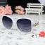 แว่นตากันแดดแฟชั่นเกาหลี โซ่แฟชั่นสีขาว thumbnail 1