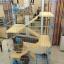 กรงแมว style Condo มีหลายชั้น บ้านแมว กรงสัตว์เลี้ยง เป็นทั้งบ้านที่นอน ห้องอาหาร ห้องน้ำสำหรับสัตว์เลี้ยง ประกอบง่าย สูง51cm - 158 cm พับเก็บได้ มีล้อ thumbnail 17