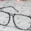 แว่นตาแฟชั่นเกาหลี สีเทาเสือดาว (พร้อมเลนส์) thumbnail 2
