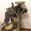 คอนโดแมว ต้นไม้แมว ของเล่นแขวน กระบะนอนพัก สูง 128 cm thumbnail 6