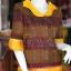 เสื้อผ้ามัดหมี่ทอมือ ไซส์ L thumbnail 2