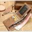 กระเป๋าสตางค์ผู้ชาย SH001 [สีน้ำตาล มีซิป] thumbnail 3