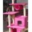 MU0077 คอนโดแมวหกชั้น ต้นไม้แมว มีบ้านอุโมงค์ เปลนอน บันได ของเล่นแขวน สูง 182 cm thumbnail 3