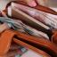กระเป๋าสตางค์ Beauty Wallet [แบบพับครึ่งปิดกระดุม+มีซิป] thumbnail 4
