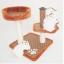 คอนโดแมวสองชั้น ที่นอนแมว ที่ลับเล็บแมว ขนาดกระทัดรัด เป็นที่พักผ่อนและที่ออกกำลังกายได้ thumbnail 1
