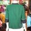 เสื้อคลุมผ้าฝ้ายสุโขทัยเดินเส้นไหม ไซส์ XL thumbnail 4
