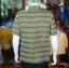 เสื้อสูทผ้าฝ้ายลายมัดหมี่สุโขทัย ไซส์ M thumbnail 3