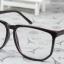แว่นตาแฟชั่นเกาหลี สีดำมัน (พร้อมเลนส์) thumbnail 3