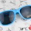 แว่นตากันแดดแฟชั่นเกาหลี สีฟ้า thumbnail 2