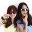 แว่นตากันแดดแฟชั่นเกาหลี สีขาว thumbnail 1