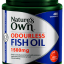 Nature's Own Odourless Fish Oil 1500mg High Strength 400 Capsules thumbnail 1