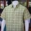 เสื้อเชิ้ตผ้าทอลายสก็อต ไม่อัดผ้ากาว สีเขียวอ่อน ไซส์ 2XL thumbnail 2