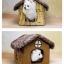 บ้านหมาแมว มีเบาะนุ่มข้างใน เหมาะสำหรับหน้าหนาว เนื้อผ้านุ่มสบาย thumbnail 9