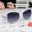แว่นตากันแดดแฟชั่นเกาหลี โซ่แฟชั่นสีขาว thumbnail 2