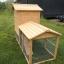 บ้านสัตว์เลี้ยง บ้านหมา บ้านแมว กระต่ายหนูไก่ นก อากาศถ่ายเทได้สะดวก 2 ชั้น ชั้นบนมีห้องเล็กยื่นออกมา ขนาดกลาง สีไม้ธรรมชาติ thumbnail 5