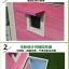 บ้านส่วนตัวของสัตว์เลี้ยงlสำเร็จรูป 2 ชั้น หลังคาจั่ว thumbnail 6