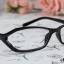 แว่นตาแฟชั่นเกาหลี สีดำ (พร้อมเลนส์) thumbnail 1