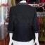 เสื้อผ้าฝ้ายสุโขทัยสีดำแต่งปักไหม ไซส์ M thumbnail 4