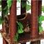 MU0116 คอนโดแมวสี่ชั้น ต้นไม้แมว กระบะนอน ท่อนไม้อุโมงค์ ของเล่นแขวน มีเถาวัลย์ใบไม้พันรอบต้นไม้ เหมือนปีนบนต้นไม้ในป่า สูง 126 cm thumbnail 8
