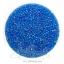 ลูกปัดเม็ดทราย 12/0 โทนรุ้ง สีฟ้าเข้ม (100 กรัม) thumbnail 1
