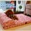 ที่นอนมีหมอนสำหรับสุนัขพันธุ์ใหญ่ มีหลายสี สามารถถอดซักได้ thumbnail 11