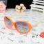 แว่นตากันแดดแฟชั่นเกาหลี กรอบส้มโบว์งาช้าง (ของจริงสีส้มเข้มกว่าในภาพ) thumbnail 1