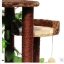 MU0116 คอนโดแมวสี่ชั้น ต้นไม้แมว กระบะนอน ท่อนไม้อุโมงค์ ของเล่นแขวน มีเถาวัลย์ใบไม้พันรอบต้นไม้ เหมือนปีนบนต้นไม้ในป่า สูง 126 cm thumbnail 10