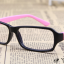 แว่นตาแฟชั่นเกาหลี สีดำชมพูอ่อน (ไม่มีเลนส์) thumbnail 2