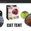 MU0016 เต๊นท์นอนอุโมงค์แมว ตาข่าย ระบายอากาศได้ดี FOLDING CAT TENT thumbnail 12