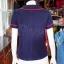 เสื้อผ้าฝ้ายสุโขทัยสีกรมท่า แต่งกุ๊น ไซส์ L thumbnail 3