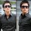 แว่นตากันแดดแฟชั่นเกาหลี กรอบดำมัน thumbnail 1