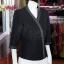 เสื้อผ้าฝ้ายสุโขทัยสีดำแต่งปักไหม ไซส์ M thumbnail 3