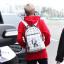 กระเป๋าเป้ TEO HENN GOT7 Style สีขาว thumbnail 1