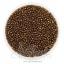 ลูกปัดเม็ดทราย 12/0 โทนมุก สีน้ำตาลทอง (100 กรัม) thumbnail 1