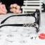 แว่นตากันแดดแฟชั่นเกาหลี โซ่แฟชั่นสีดำ thumbnail 4